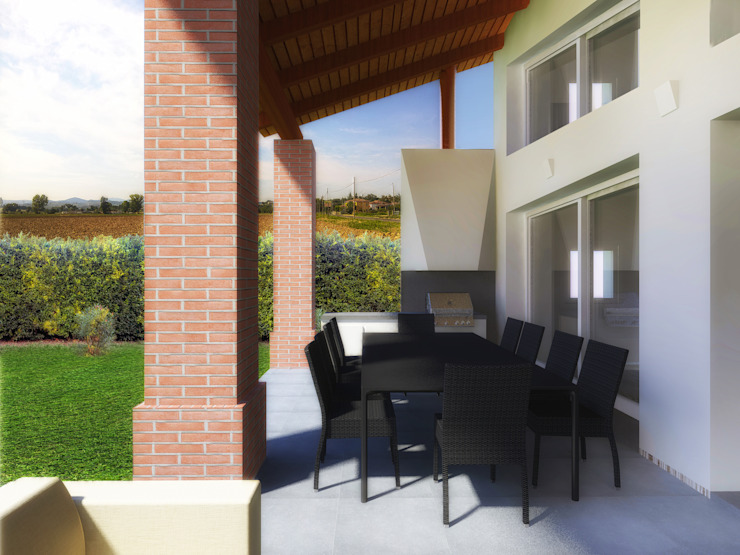 Modern Houses by Flavia Benigni Architetto Modern