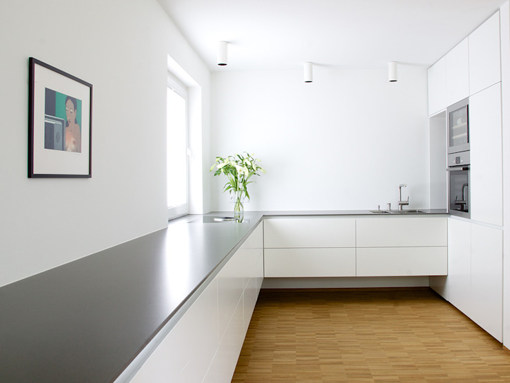 Cocinas de estilo  por pauly + fichter planungsgesellschaft mbH, Minimalista