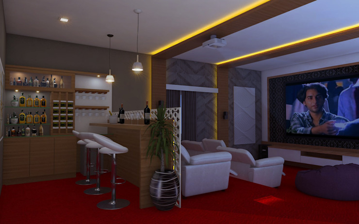 PENTHOUSE DESIGNS by shree lalitha consultants Asian Plywood