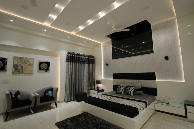 Terrace House Modern style bedroom by Conarch Architects Modern