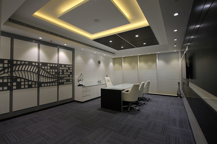 RP Group office Modern office buildings by Conarch Architects Modern