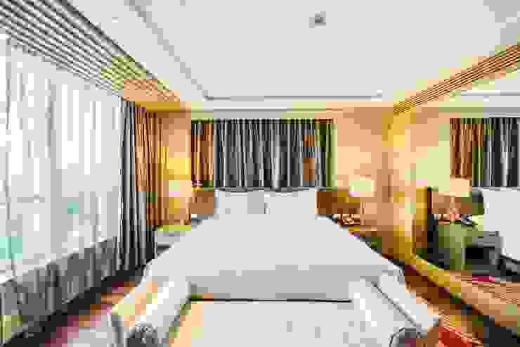 Elegant Hotel Kamar Tidur Gaya Asia Oleh Bakti Architect Asia Batu