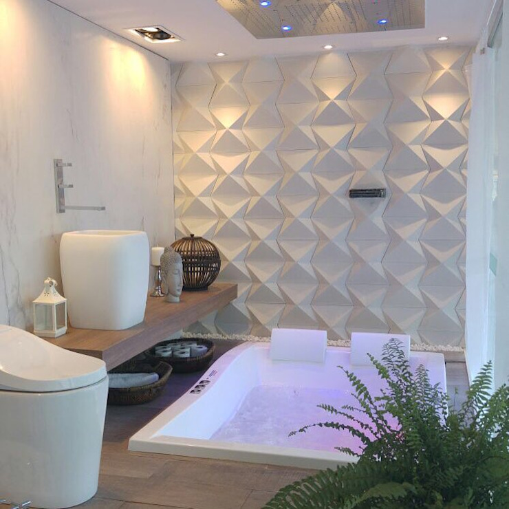 Salle de bain moderne par Guaraúna Revestimentos Moderne