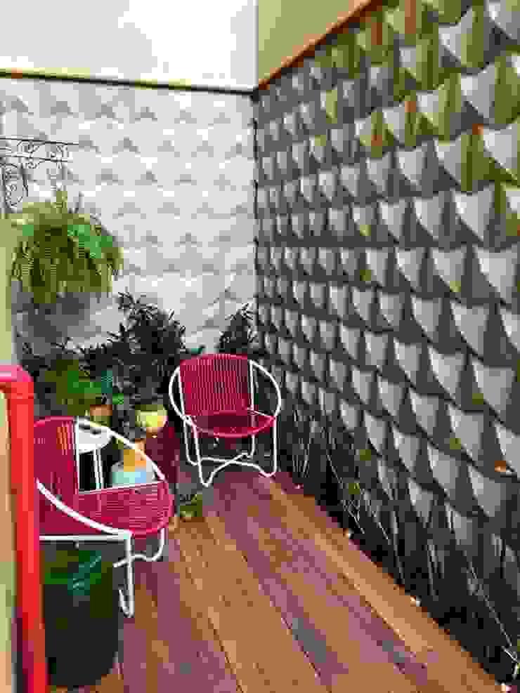 Maisons modernes par Guaraúna Revestimentos Moderne