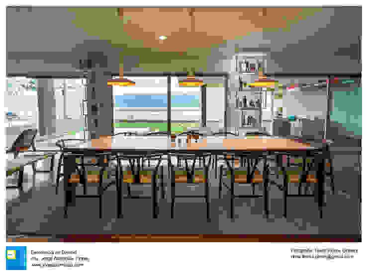 Ruang Makan Modern Oleh Excelencia en Diseño Modern Kayu Wood effect
