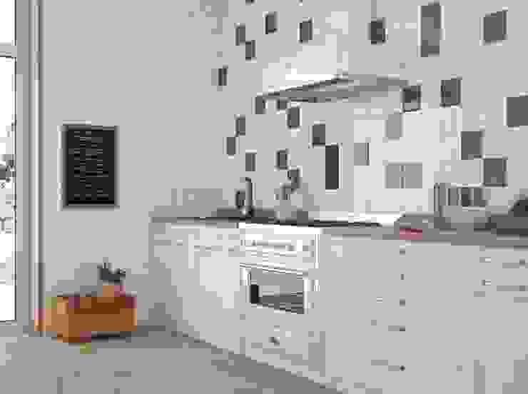 現代廚房設計點子、靈感&圖片 根據 Fliesen Sale 現代風 磁磚