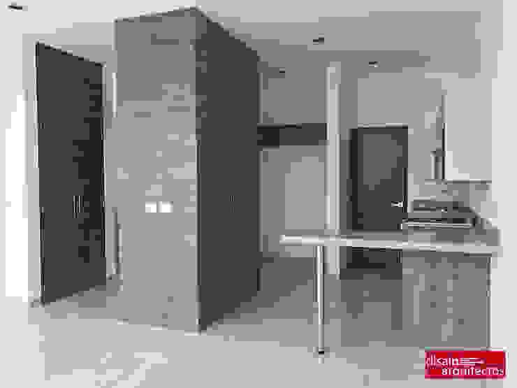 現代廚房設計點子、靈感&圖片 根據 homify 現代風 木頭 Wood effect