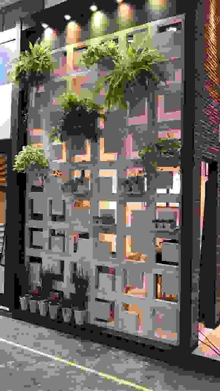 Guaraúna Revestimentos Modern conservatory
