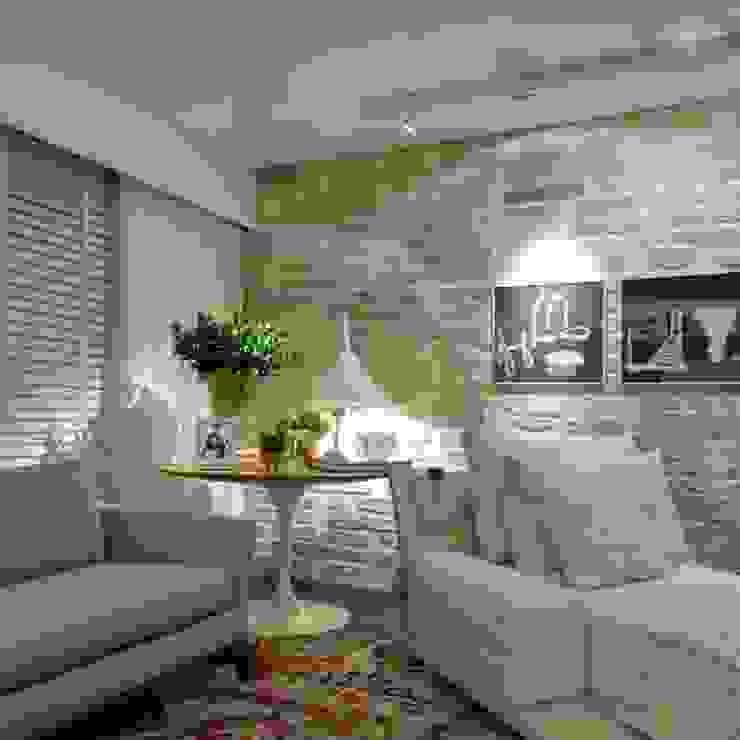 Guaraúna Revestimentos Living room