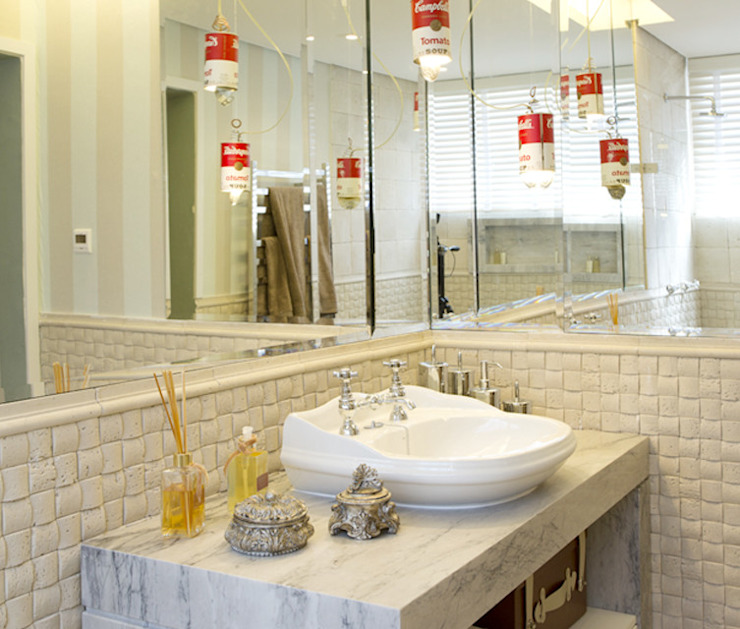 Guaraúna Revestimentos Modern bathroom