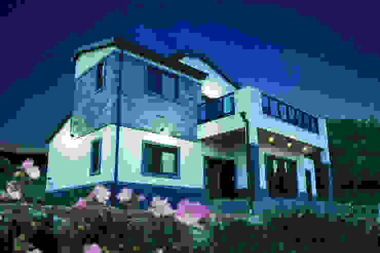 오창 50평형 ALC전원주택 by W-HOUSE 모던 철근 콘크리트