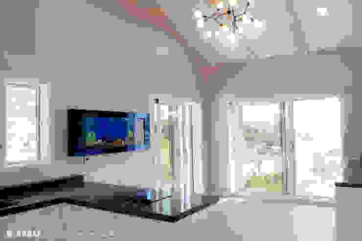 오창 50평형 ALC전원주택 by W-HOUSE 모던 솔리드 우드 멀티 컬러