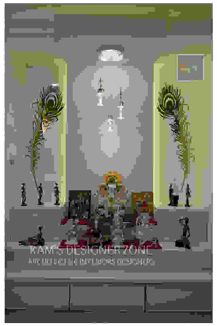 Mandir Interior Design Classic style dining room by KAM'S DESIGNER ZONE Classic