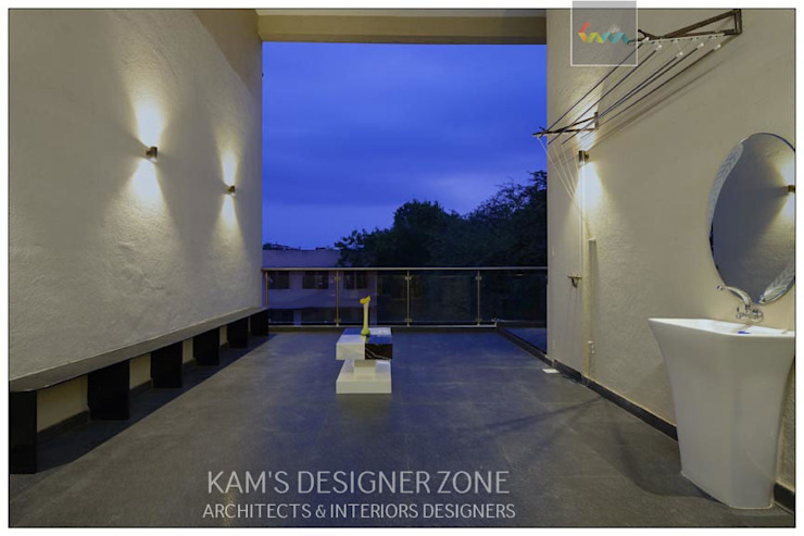 Terrace Interior Design KAM'S DESIGNER ZONE Patios & Decks