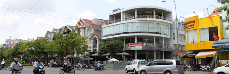 FRONT FACADE VIEW bởi NBD ARCHITECTS