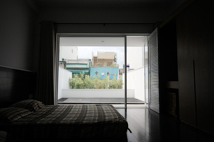BED ROOM bởi NBD ARCHITECTS