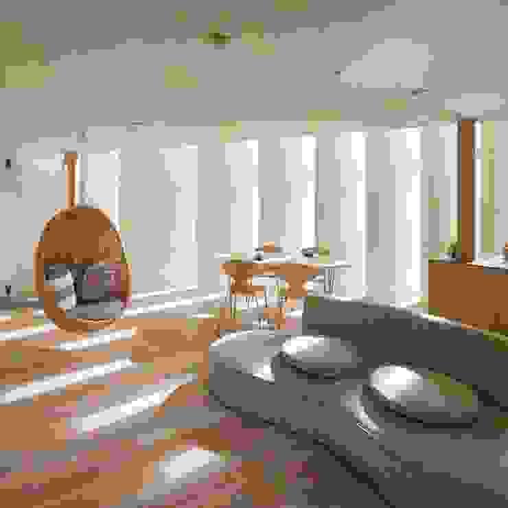 Livings de estilo minimalista de Spacio Collections Minimalista Madera Acabado en madera