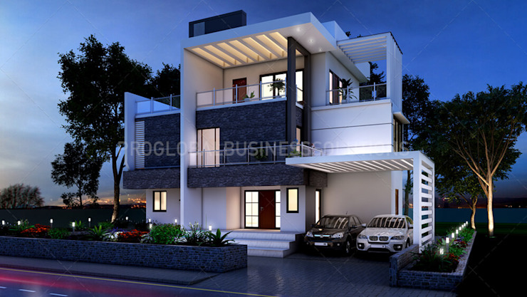 3D Architectural Exterior Rendering Services by Proglobalbusinesssolutions