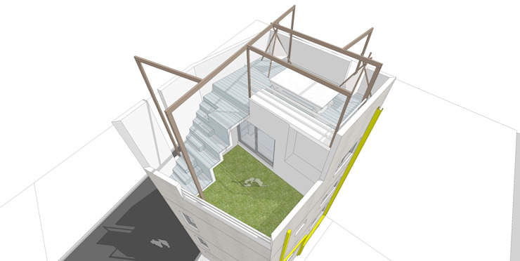 ROOF PERSPECTIVE by yoonzip interior architecture