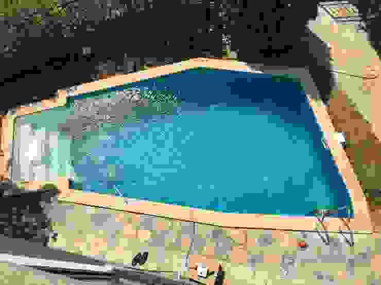 Villa havuz Yapımı/Bitez Sıdar Pool&Dome Yüzme Havuzları ve Şişme Kapamalar Bahçe havuzu Demir/Çelik
