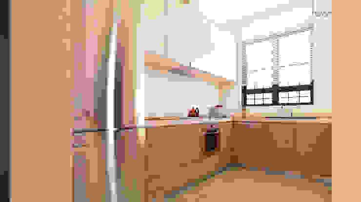 Two+architects – Suadiye Konut:  tarz Mutfak, Modern