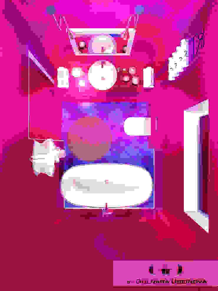 Salle de bain méditerranéenne par Дизайн интерьера под ключ - GDESIGN Méditerranéen