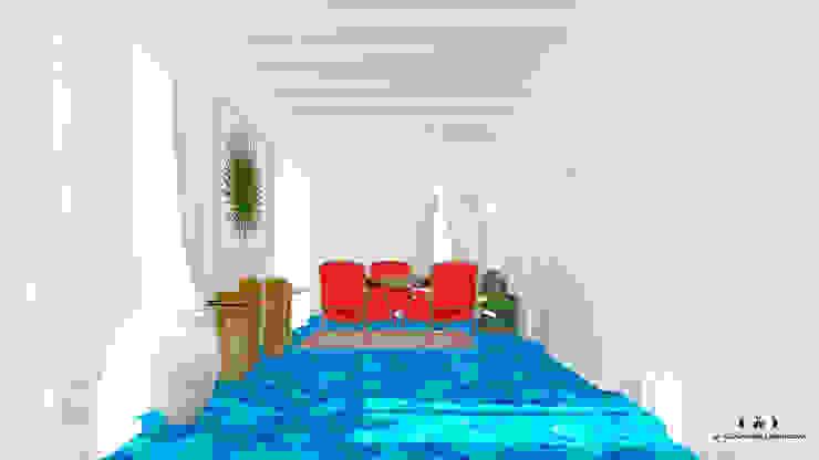 Bureau méditerranéen par Дизайн интерьера под ключ - GDESIGN Méditerranéen