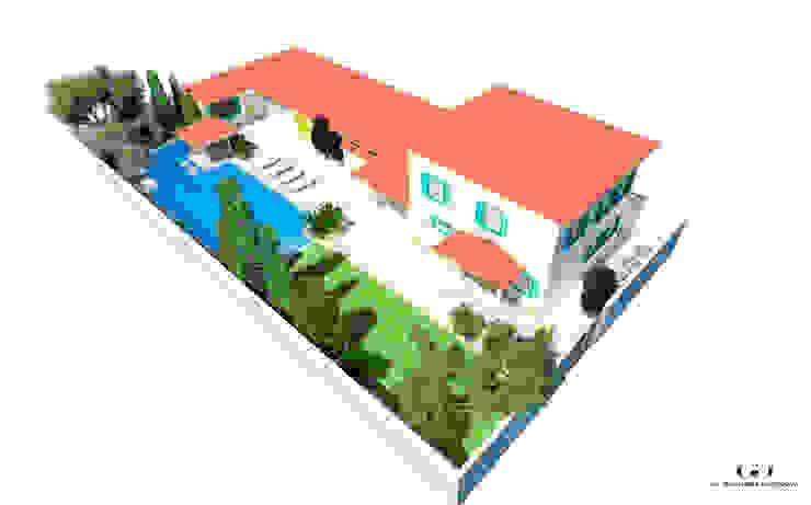 Maisons méditerranéennes par Дизайн интерьера под ключ - GDESIGN Méditerranéen