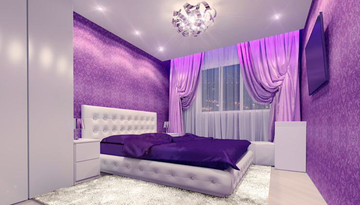Modern Bedroom by Дизайн интерьера под ключ - GDESIGN Modern