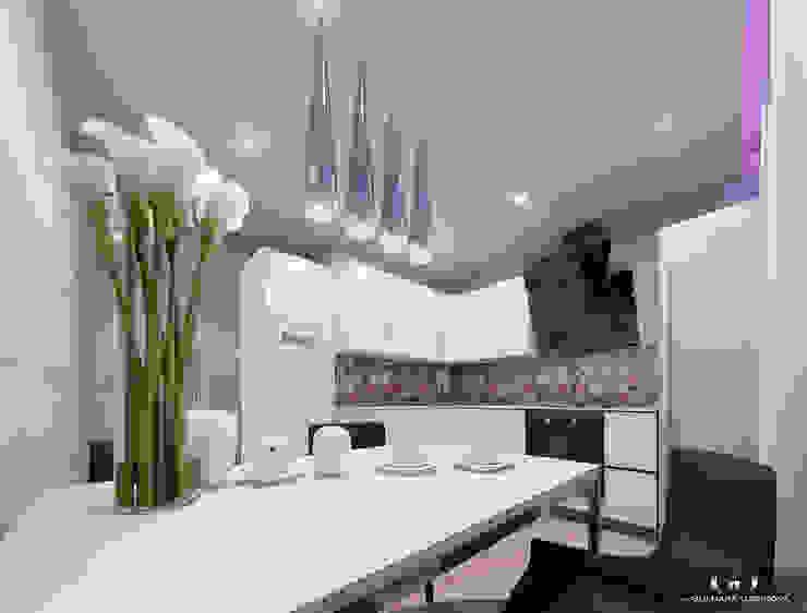 Modern Kitchen by Дизайн интерьера под ключ - GDESIGN Modern