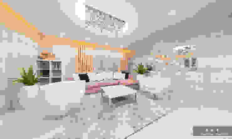 Modern Living Room by Дизайн интерьера под ключ - GDESIGN Modern