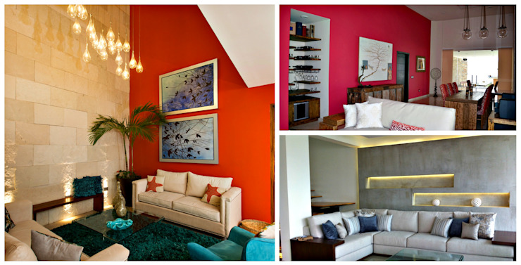 12 Paint Colour Ideas For The Walls In Your Living Room Homify