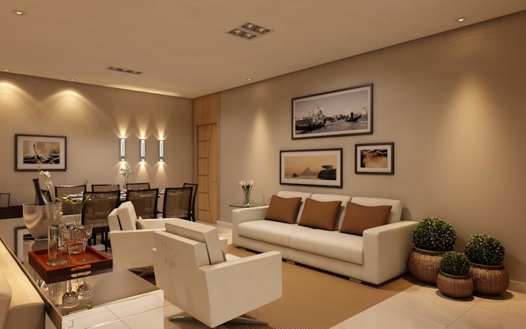 Classic style living room by homify Classic MDF