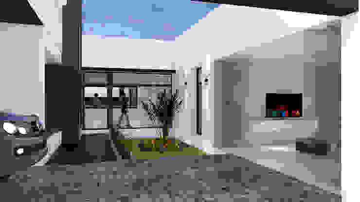 Modern Garden by D'ODORICO ARQUITECTURA Modern