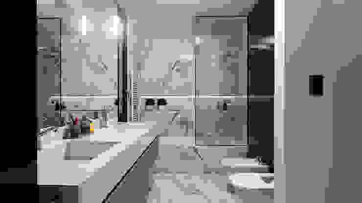 Modern Bathroom by D'ODORICO ARQUITECTURA Modern