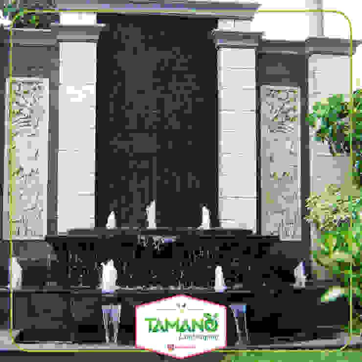 Kolam Minimalis tamano Bangunan Kantor Tropis