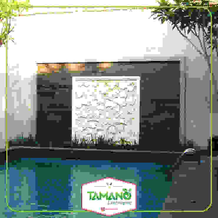 Dekorasi Dinding tamano Hotel Tropis