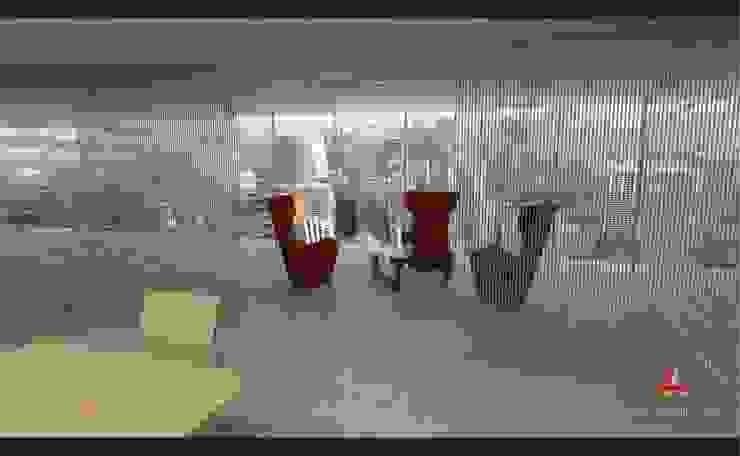Esdudio -Bufete en Rosario. Argentina Estudios y oficinas modernos de Aida Tropeano & Asoc. Moderno