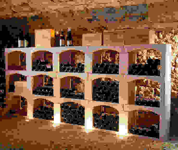 Classic wijnrek van steen. van Exaro Klassiek Steen