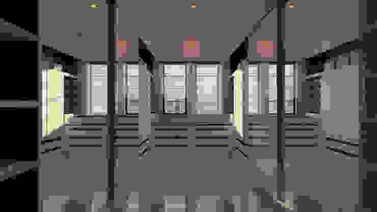 Walking Wardrobe Ruang Ganti Modern Oleh Chandra Cen Design Modern