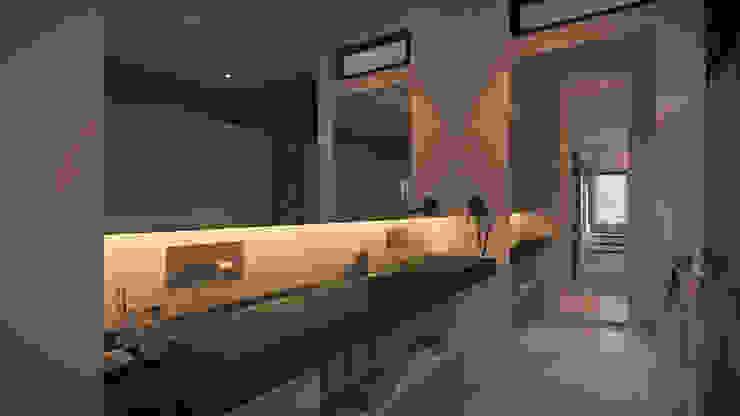 Master Bathroom Kamar Mandi Modern Oleh Chandra Cen Design Modern