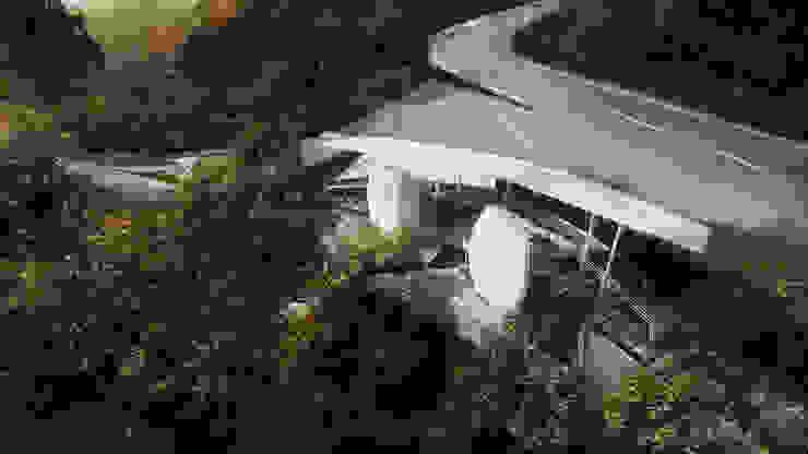 3D Rendering Ruang Komersial Modern Oleh Chandra Cen Design Modern
