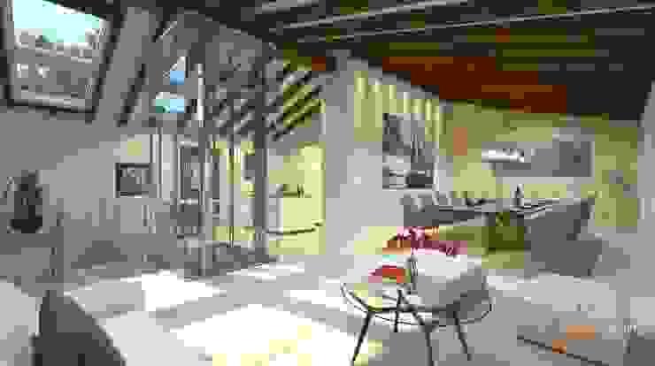 Perspectivas 3D – Comedores Comedores de estilo moderno de Realistic-design Moderno