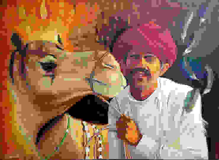 Unbeatable confident: asian  by Indian Art Ideas,Asian