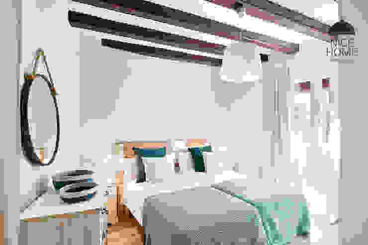 Proyecto Ramblas Habitaciones de estilo mediterráneo de Nice home barcelona Mediterráneo