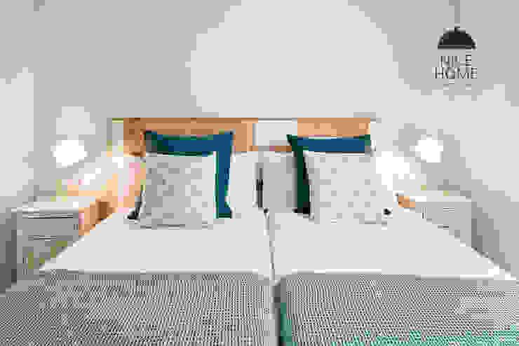 Proyecto Ramblas Dormitorios de estilo mediterráneo de Nice home barcelona Mediterráneo