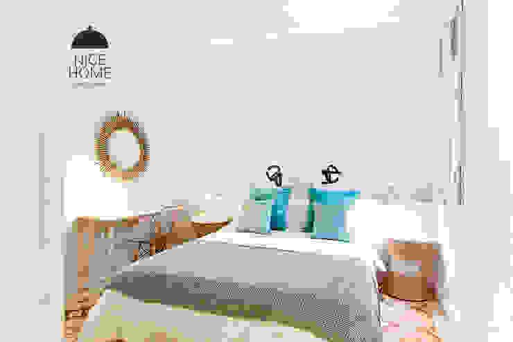 Proyecto Diputación Dormitorios de estilo mediterráneo de Nice home barcelona Mediterráneo