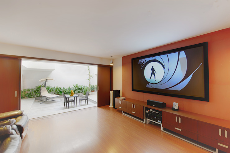 Mobius Home Modern living room by Architecture Continuous Modern