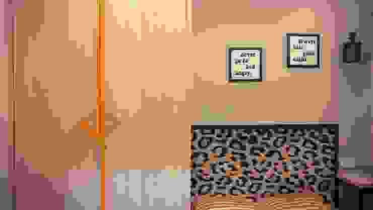 Residence in Mumbai Minimalist bedroom by Olive Roof Minimalist