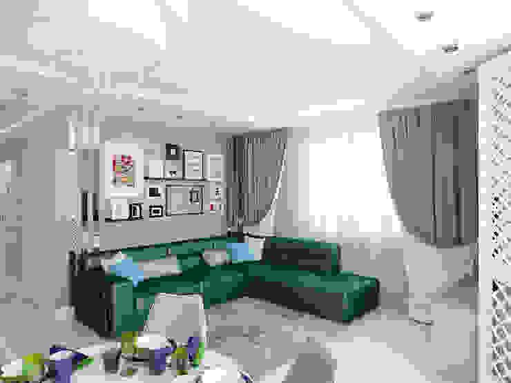 ЖК Столичный - гостиная Гостиная в классическом стиле от Мастерская дизайна Онищенко Марии Классический
